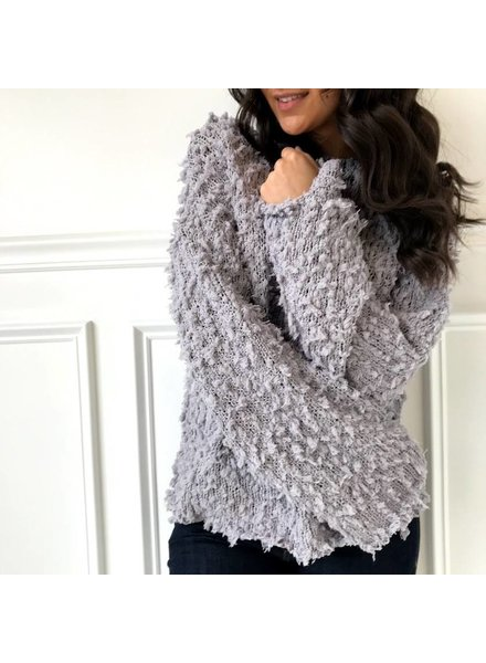 sadie & sage CXT1009 Shaggy sweater