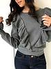 Love Riche 12w1145L ruffle sweater