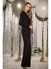 gbr1311-1 long sleeve twisted jumpsuit