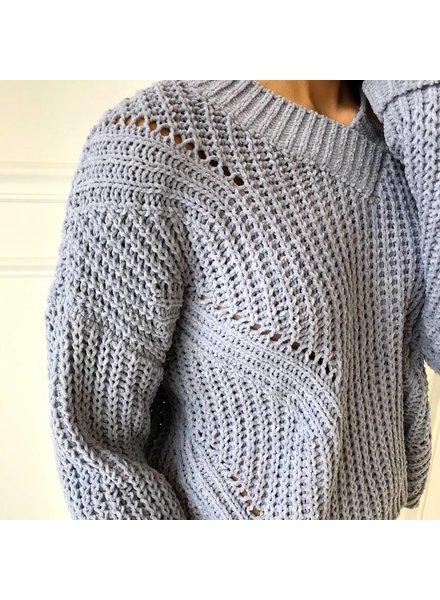 sadie & sage CXT9093 V-neck Sweater