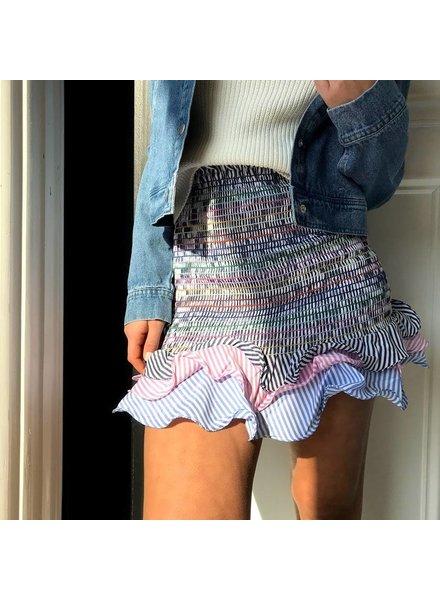 Y15202 ruffle skirt