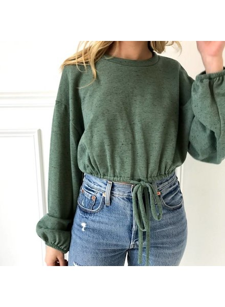 TH9165 cropped sweatshirt