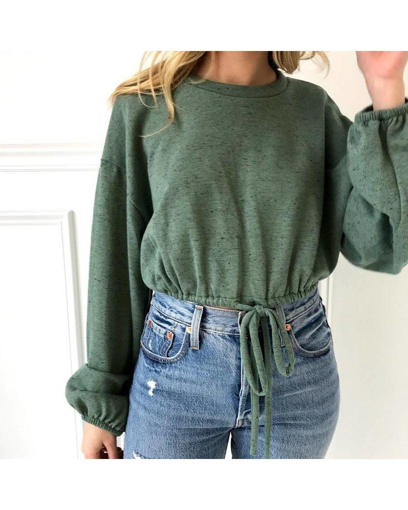 TH9165 cropped sweatshirt