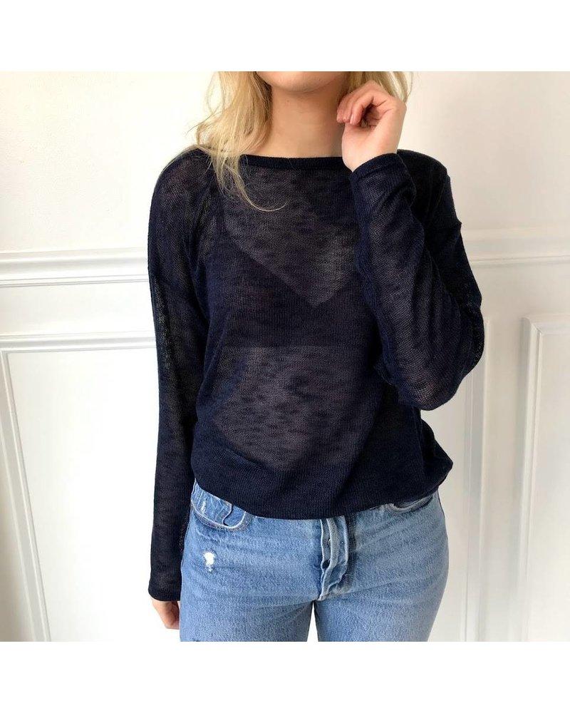 sadie & sage AST51050 sheer sweater