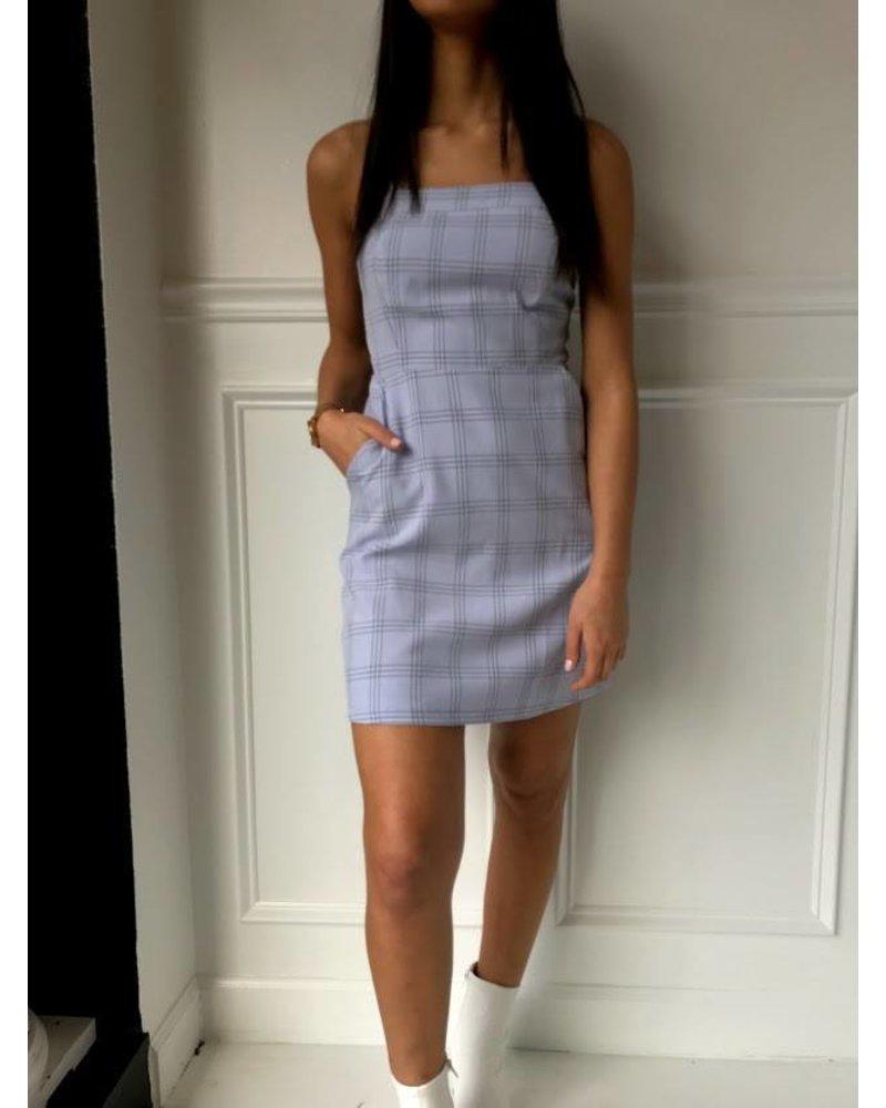 Ld32180 lace up mini dress