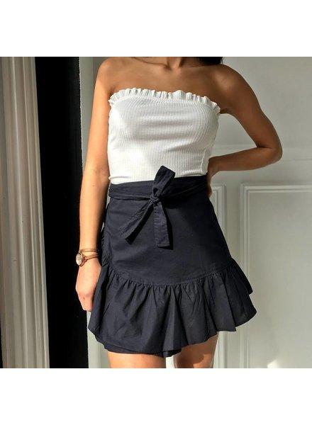 Y15083 Mini wrap skirt