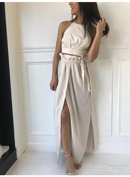 y15219 maxi skirt w/ slits