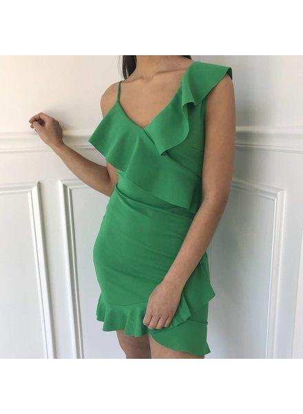 klaxons dr320 ruffle dress