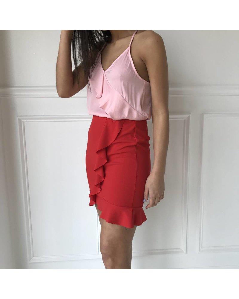 klaxons p227 ruffle skirt