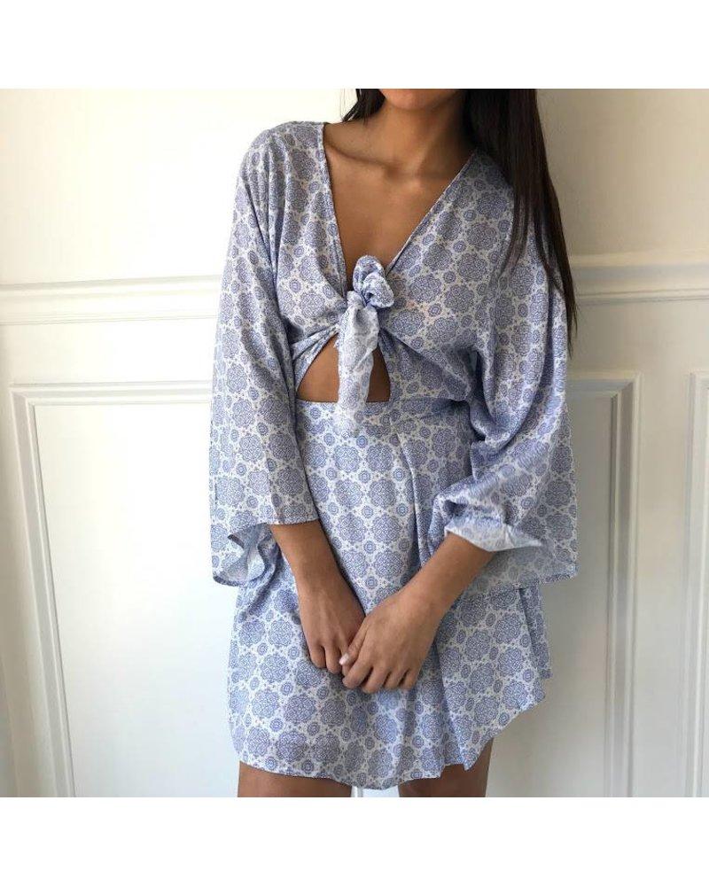 TPD-2101D  mini dress