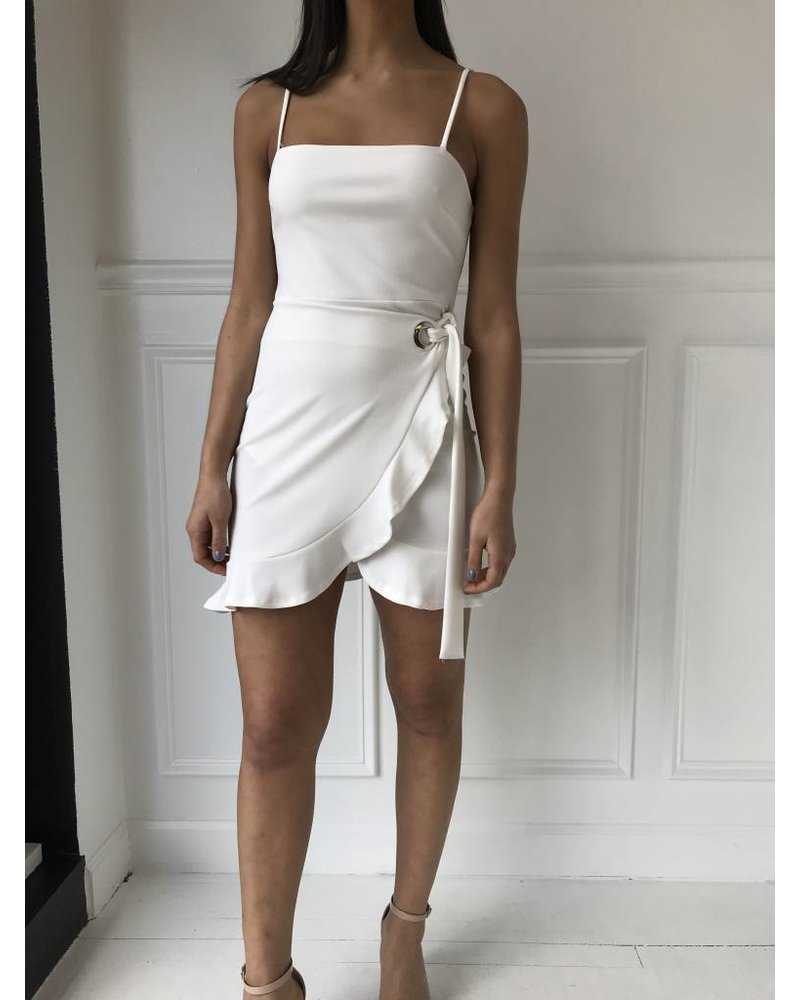 bd8837 ruffle mini dress
