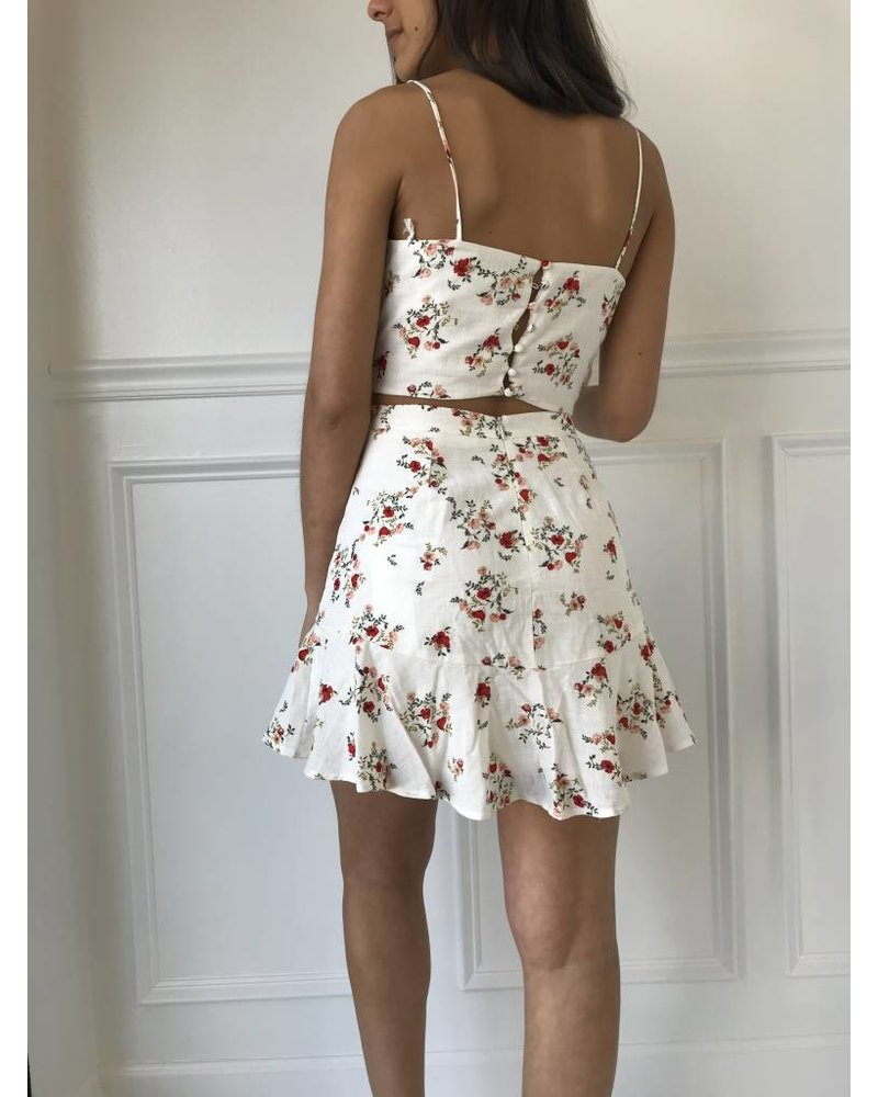 Lush s8074-i fit and flare skirt