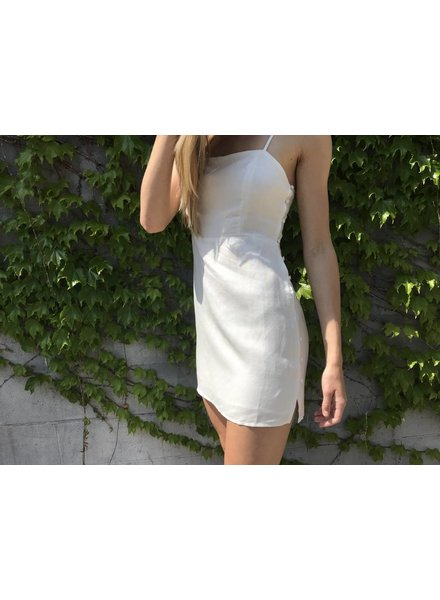 wild honey 8id0434h button side mini dress