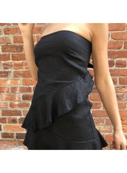 tpd-2145a strapless mini dress