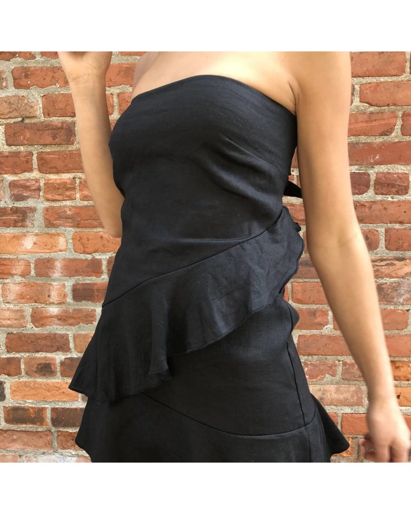 skylar madison tpd-2145a strapless mini dress