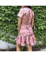 sj17370 floral mini dress