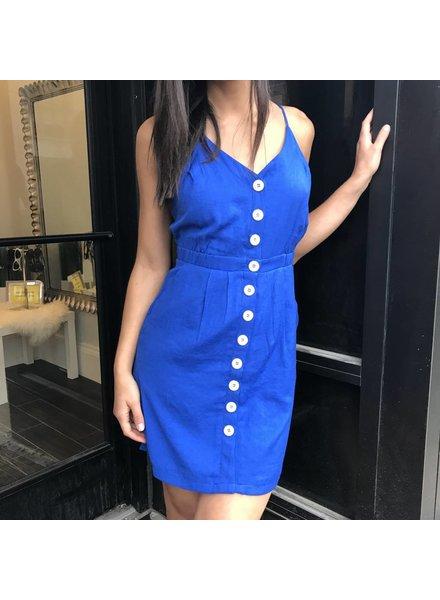 essue ld32302 button down dress