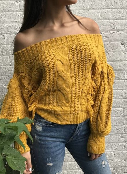 Blue Blush sydney sweater