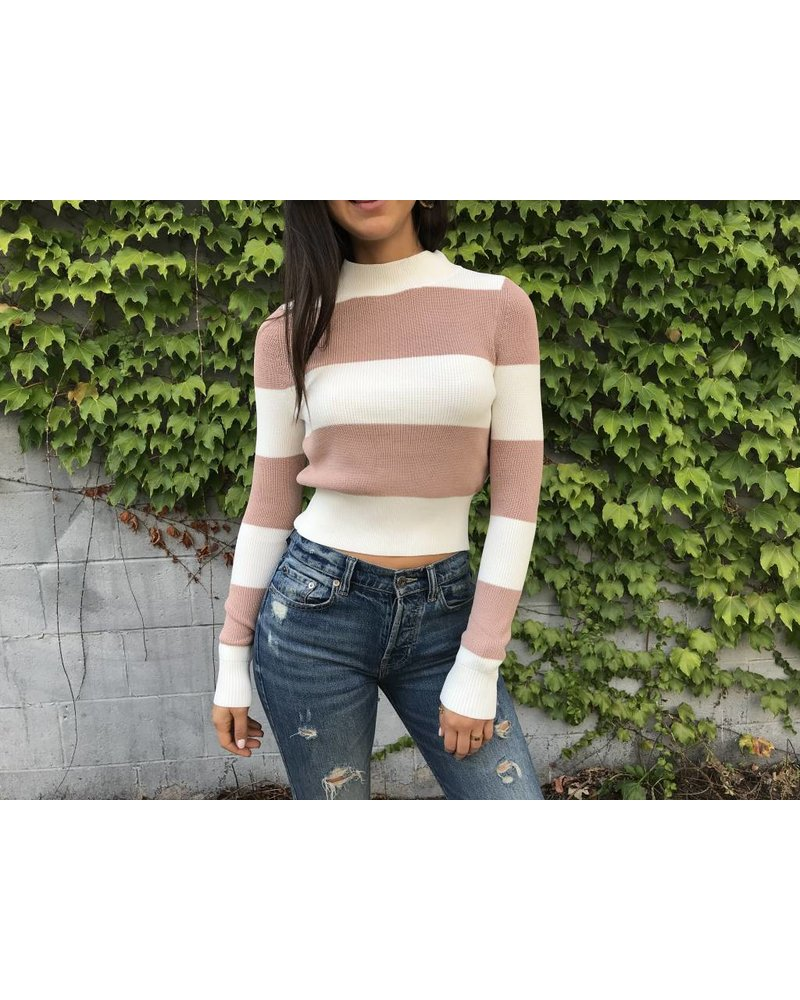 olivaceous Rana sweater