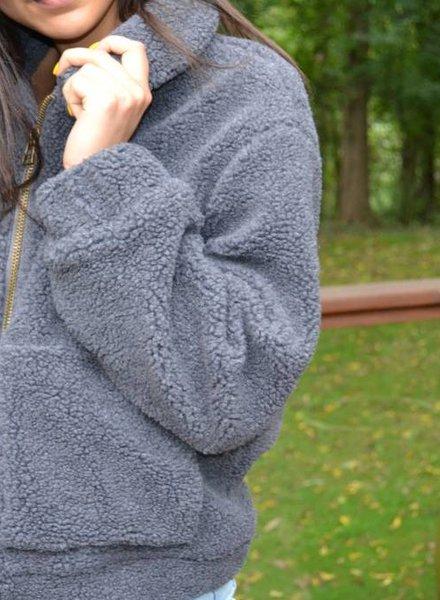 Lush teddy jacket