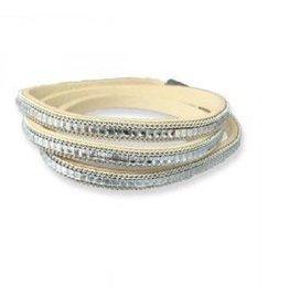 Meghan Browne Style Bracelet Meredith Cream