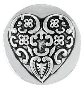 Good Bead Inc Baroque Heart RETIRED