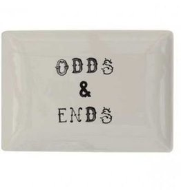 """Creative Co-Op Odds & Ends"""" Plate"""