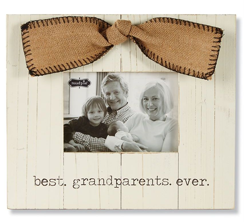 Mud Pie Grandparents Frame - Nest Feathers Gifts