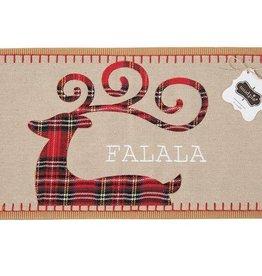 Mud Pie Tartan Christmas Pillow Wrap - FALALA
