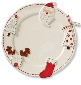 Mud Pie Christmas Ornament Platter