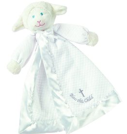 Christening Lamb Blanket