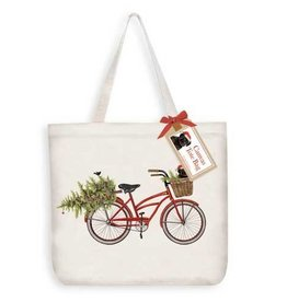 Mary Lake-Thompson Winter Bike Tote Bag