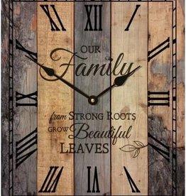 P. Graham Dunn Clock Our Family