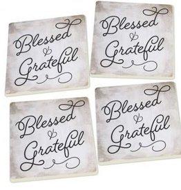 P. Graham Dunn Blessed & Grateful Coaster