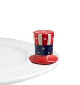 Nora Fleming, LLC Uncle Sam Hat Mini