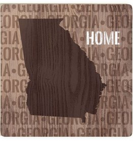 "P. Graham Dunn Georgia ""Home"" Coaster"