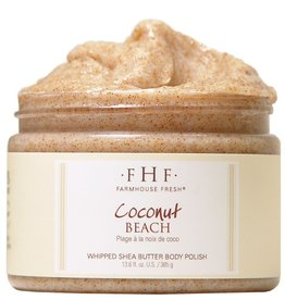Farmhouse Fresh Coconut Beach Shea Sugar Scrub