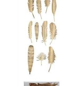 """Creative Co-Op 10"""" Paper Feathers"""