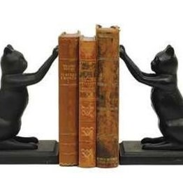 Creative Co0 Cast Iron Cat Bookends