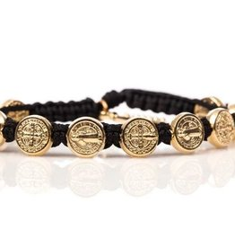 My Saint My Hero Gold Benedict Bless Bracelet(Asst Colors)