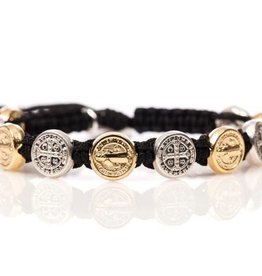 My Saint My Hero Mixed Benedict Bless Bracelet (Asst Colors)