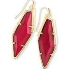 Kendra Scott Bexley Earring Burgundy Illusio