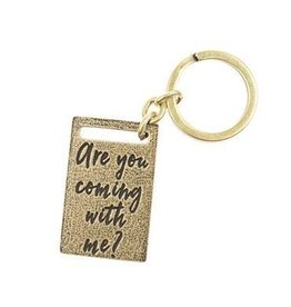 Lenny & Eva Key Ring - Are you Coming with me?