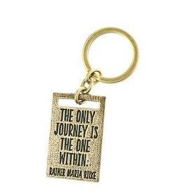 Lenny & Eva Key Ring Journey Only Within