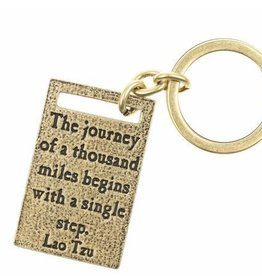 Lenny & Eva Key Ring Journey Thousand Miles