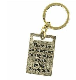 Lenny & Eva Key Ring No Shortcuts Worth Goi