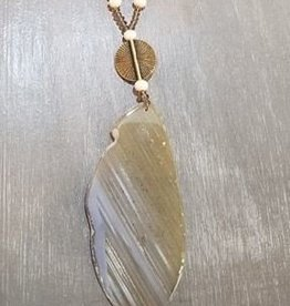 Scooples Jewelry Cashmere Agate Necklace