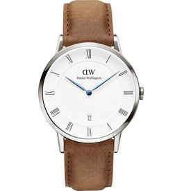 Daniel Wellington Inc DW Durham Unisex Watch Dapper Silver 38mm