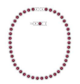 Swarovski Angelic Necklace All Around Red