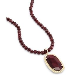 Kendra Scott Kendra Scott Marlowe Necklace Gold Bordeaux